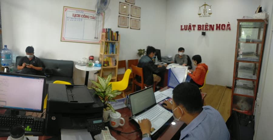 văn phòng luật sư Biên Hòa